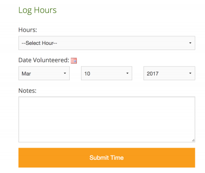 hour log form