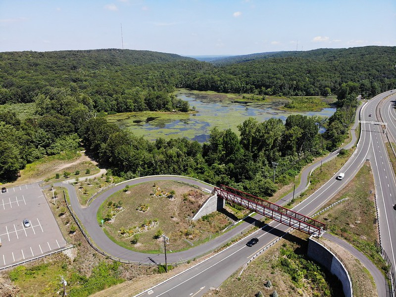 Hop River/Charter Oak Connection (image: CT Trail Census/NVCOG)